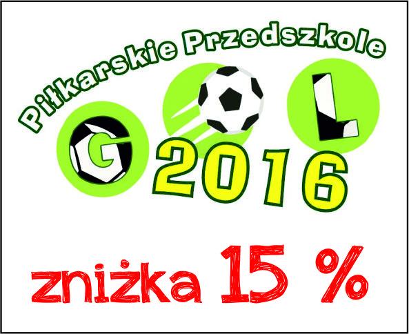 Piłkarskie Przedszkole Gol 15%