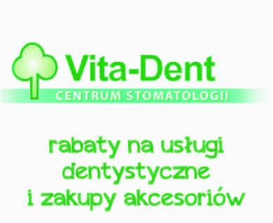 rabat na usługi stomatologicznevitadent