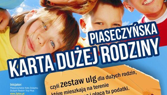 Karta Dużej Rodziny w Piasecznie