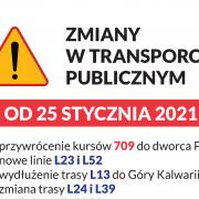 zmiany tras autobusow w piasecznie od 25 stycznia 2021 mapa ztm
